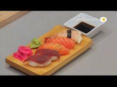 Oriental y tal Cómo preparar Nigiri Sushi