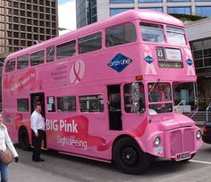 PRECIOUS METALS Loves this Breast Cancer London Bus! #bca