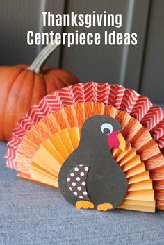 Add some festive fun to your fall home decor with these Thanksgiving centerpiece ideas. Explore everything from free printables to paper craft projects. Before you start in on these easy fall decorating tutorials, don't forget to wear your Depend® FIT-FLEX® Underwear to ensure that bladder leaks don't interrupt your creative time.