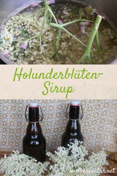 Holunderblüten-Sirup <3