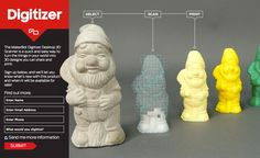 Digitizer scan your items so that you can print with Makerbot | GOILD