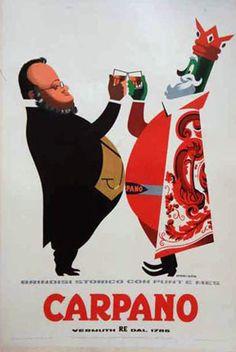 Vintage Italian Posters ~ #illustrator #Italian #vintage #posters ~ Liqueur Poster
