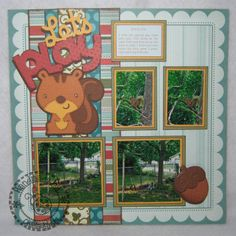 stampin up 8.5 x 11 school layouts - Google Search