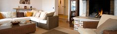View of the living room at Casa Bella, Luxury Villa to Rent in Istria, Croatia.
