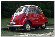 BMW Isetta 250 Export with 247 ccm, 12 PS, vmax: 85 km/h