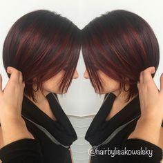 Short hair red balayage                                                                                                                                                                                 More