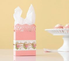 Anna Griffin Sophisticated Soirees Cricut image set -- DIY Treat Bag. Make It Now in Cricut Design Space