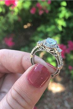 "18 Amazing Ornate Engagement Rings That Will Make You Say ""I Want That!"" - Reverie"