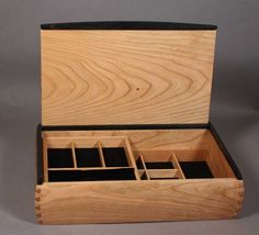 Custom Made Dovetailed Jewelry Box