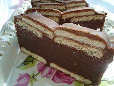 Pe masa din bucatarie: Chec rece de ciocolata cu biscuiti