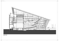 Daniel Libeskind. Grand Canal Square Theatre.