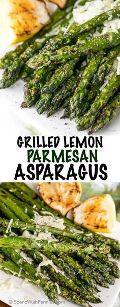 Grilled Asparagus is a summer treat, perfect along side any steak or barbecued chicken dish! This easy recipe elevates a traditional grilled asparagus by adding a touch of parmesan cheese and a squeeze of grilled fresh lemon... easy enough for an everyday meal and amazing enough to wow your guests!