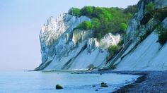 Møns Klint in Denmark is a 6km long chalk cliff on the island of Møns.