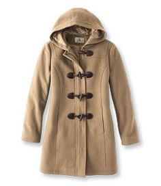 #LLBean: Classic Lambswool Duffel Coat size 14