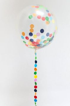 Confetti-filled huge round balloons give bags of impact and are a total crowd-pleaser! Big and perfectly round our balloons can be inflated to up to Jumbo Balloons, Clear Balloons, Round Balloons, Rainbow Balloons, Giant Balloons, Confetti Balloons, The Balloon, First Birthday Parties, First Birthdays