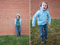 Hoodie Refashion adult to toddler