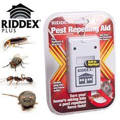 Elektronik Fare ve Haşere Kovucu Riddex Pulse
