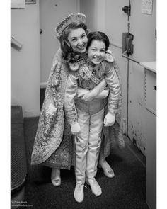 Anastasia and Alexei. Cast of Broadway's Anastasia.