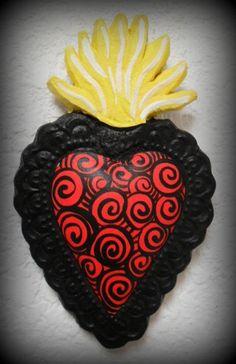 MEXICAN FOLK HEARTS.