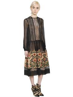 DRESSES - ALBERTA FERRETTI - LUISAVIAROMA.COM - WOMEN'S CLOTHING - FALL WINTER 2016 -…