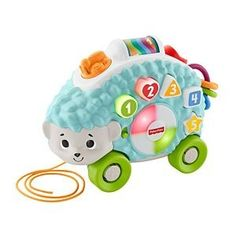 Check out the Linkimals Happy Shapes Hedgehog featuring songs about colors, shapes, and more. Explore all Linkimals toys at the Fisher-Price site today! Toddler Age, Toddler Toys, Baby Toys, Jouets Fisher Price, Fisher Price Toys, Toys R Us, Baby Musical Toys, Alex Toys, Developmental Toys