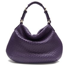 SD Marvel Star Queen Sheep Leather Weave Bag - Plus - Purple