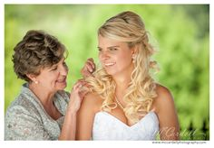 Touching moment between mother and daughter at a Cody Creek wedding, by McCardell Photography Wedding Portraits, Portrait Photographers, Daughter, Wedding Photography, In This Moment, Bride, Couple Photos, Beautiful, Wedding Bride