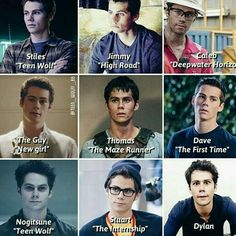 Mine is either Stiles, Dylan, dave and the guy Teen Wolf Memes, Teen Wolf Funny, Teen Wolf Boys, Teen Wolf Dylan, Teen Wolf Stiles, Teen Wolf Cast, Teen Wolf Actors, Dylan O'brien, Dylan Thomas