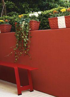 drummond ref little greene Little Greene, Outdoor Gardens, Planter Pots, Home And Garden, Cottage, Exterior, Plants, Design, Inspiration