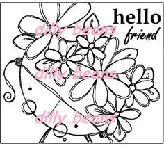 Dilly Beans Stamps: Amalia Collection