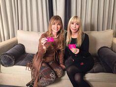 Con mi amiga Elena Fortabat