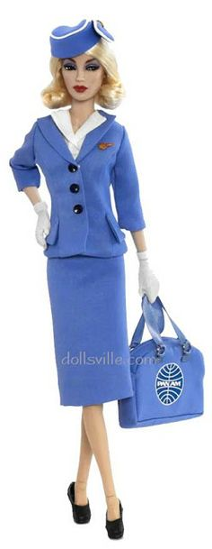 THE FASHION DOLL REVIEW: Pan Am Stewardess from Madame Alexander