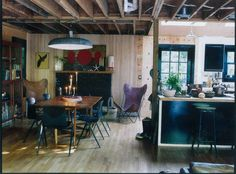 Sea Ranch by Roman and Williams Buildings and Interiors Dining Room Inspiration, Interior Inspiration, Interior Ideas, Roman And Williams, Sea Ranch, Ace Hotel, World Of Interiors, Butterfly Chair, Elle Decor