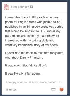 THis is so great. Tumblr. Danny Phantom
