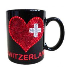 Tasse Switzerland mit Herz