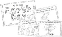 7 Fast Activities for Earth Day and Printables - Teach Junkie - Free Earth Day Emergent Reader All About Earth, Love The Earth, Earth Day Activities, Spring Activities, Holiday Activities, Math Activities, Earth Day Crafts, Emergent Readers, Kindergarten Science