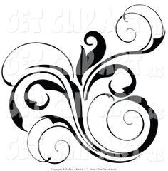 fancy scroll designs fancy scroll design no background shield rh pinterest com fancy scroll frame clip art fancy scroll frame clip art