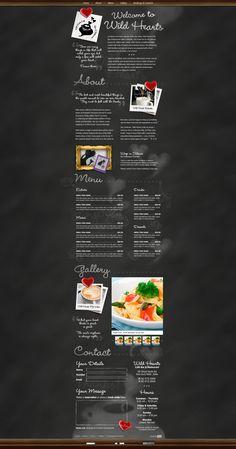 Wild Hearts Cafe – Web Design