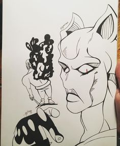 No swollen Kylo Rens allowed! Just kidding. But you shouldn't fuck with that stando or you end like him. Jojo Stands, Killer Queen, Just Kidding, Jojo's Bizarre Adventure, Traditional Art, Inktober, Fanart, It Is Finished, Day