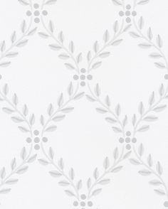 Trellis Leaves by Boråstapeter - Blue and White - Wallpaper : Wallpaper Direct - - Boråstapeter Trellis Leaves White and Black Wallpaper Kitchen Wallpaper, Wall Wallpaper, Trellis Wallpaper, Blue And White Wallpaper, Scandinavian Wallpaper, Scandinavian Kitchen, Paisley Background, Art Deco Tiles, Waterfall Features