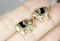 Elephant earringselephant stud earringsstud by TwinkleJewel1