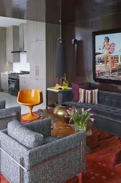 Formal Living Area Design By Musso Group
