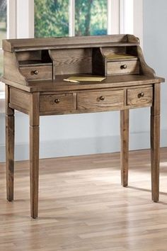 small traditional writing desks