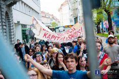 beats gegen kapitalismus,grazer südtirolerplatz,30.4.2013,tag der arbeitslosen,vorabend,traditionelle 1. mai aufmärsche,junge,engagierte menschen,grazer innenstadt,gute laune,ausgelassenes feiern