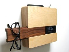 The Butler will solve every busy person's problem, keeping your keys, wallet, phone & glasses in one sleekly designed spot.