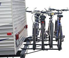 RV and Camper Bumper Bike Rack - StoreYourBoard.com
