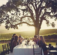 beautiful al fresco dinner party Wedding Blog, Wedding Styles, Wedding Reception, Wedding Ideas, Reception Ideas, Sunset Wedding, Wedding Dinner, Wedding Inspiration, Wedding Table