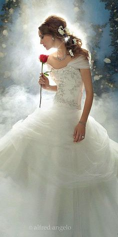 disney wedding dresses belle
