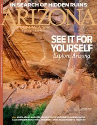 Arizona Highways Magazine  | Borrow online free with your Mesa Library card.