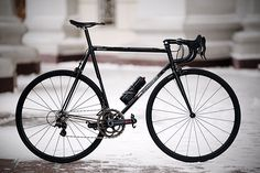 Sakharov Andrey from Russia with love sent me photos of his new Maffioletti road bike build. This beauty features a Campagnolo Super Record 11 80th Anniversary Groupset, Thomson X2 Road Stem, 3T Rotundo Team Stealth Handlebars, Mcfk Carbon Saddle, and Exralite Cyber Hubs. Total weight...